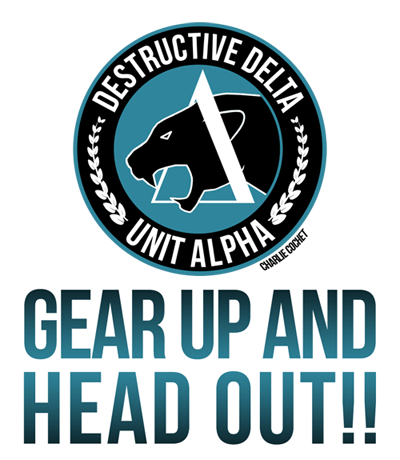 Destructive Delta Gear UpRDP