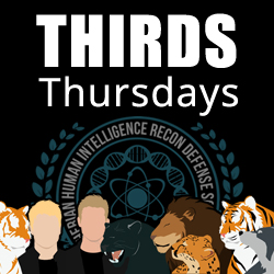 THIRDS Thursdays Badge